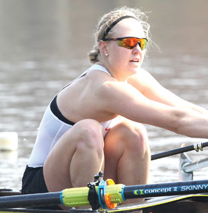 "For one Princeton University senior, grueling routines are just part of pursuing her Olympic dreams.  ""I'm an Olympic hopeful. There's lots of training and hard times ahead,"" said Claire Collins '19, an accomplished rower."