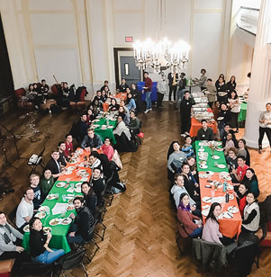 Christian Union at Columbia hosted an inter-ministry Thanksgiving dinner last year, and is now seeking to make it an annual tradition.