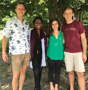 Students involved with Christian Union's ministry at Harvard College eagerly welcomed members of the class of 2021 as they descended upon Cambridge.